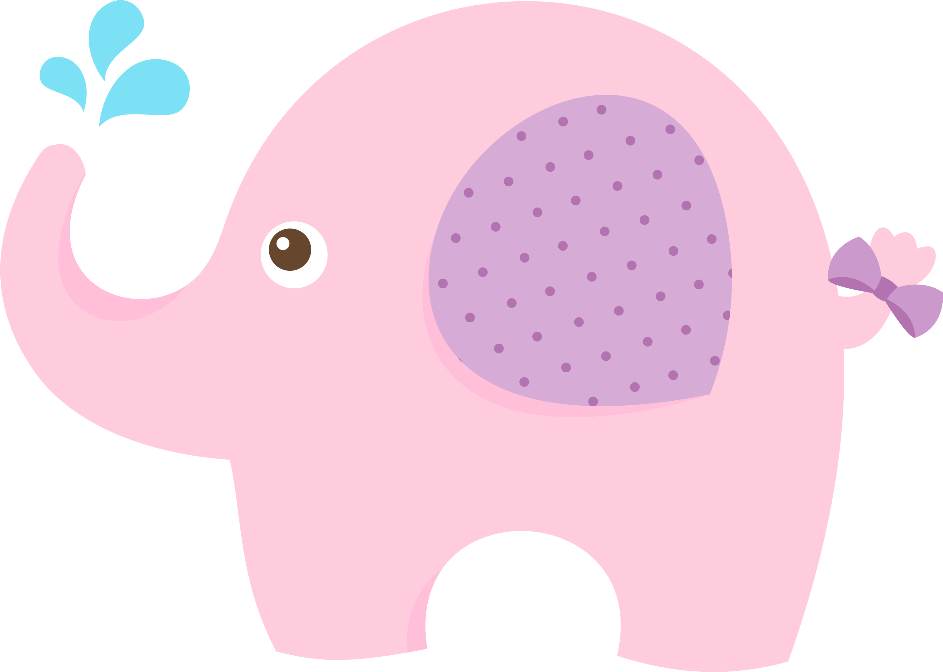 baby elephant baby shower png