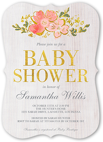 5x7 decorative labels png. Silver baby shower invitations