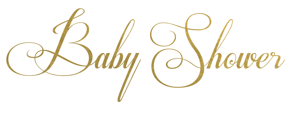 Baby shower text png. Logo home design ideas