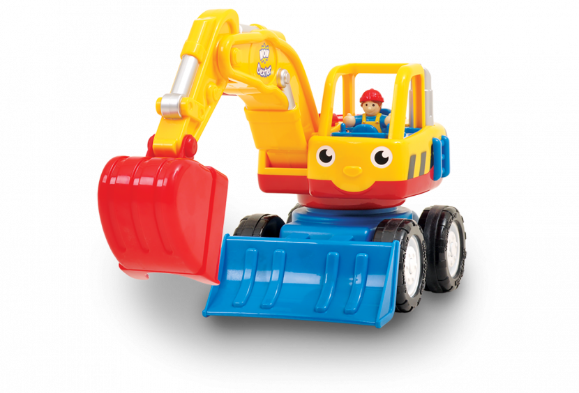 Child toys png. Wow dexter the digger