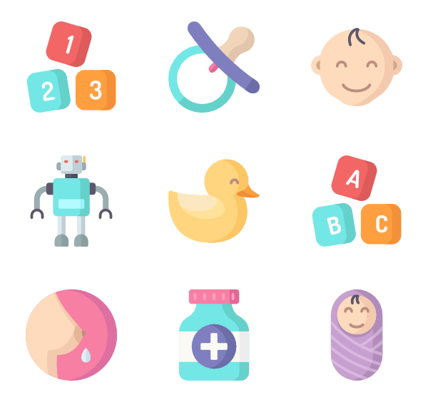 Baby vector png. Child icons free