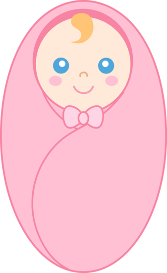 Baby wrapped in blanket png. Clipart girl free clip