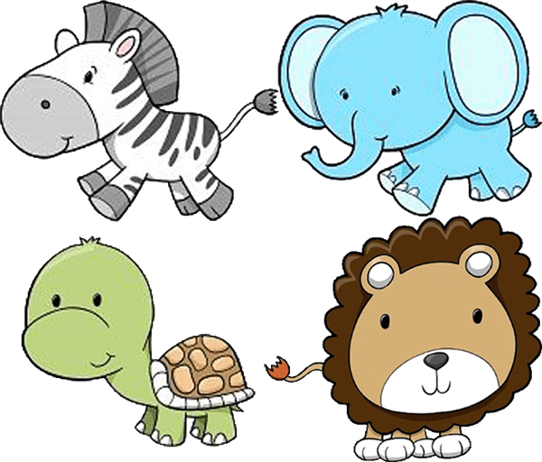 Zoo vector background. Free png animals transparent