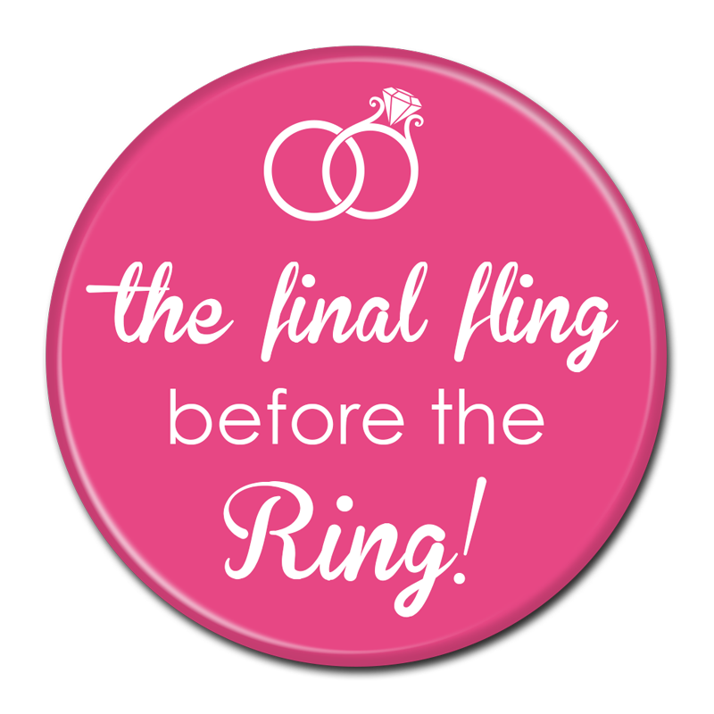Bachelorette party png. Bride buttons wedding custom