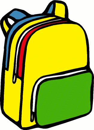 backpack clipart black and white png
