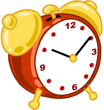 In the clipart clock. Clip art fall back