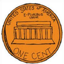 Back clipart penny. Free