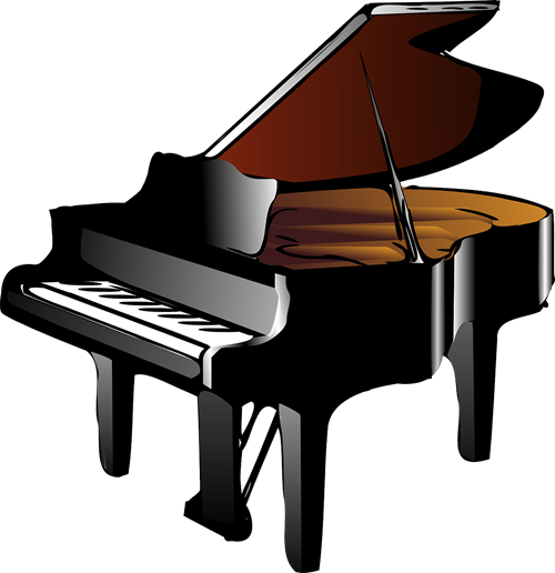 Smash fundraiser allen east. Piano clipart png royalty free stock