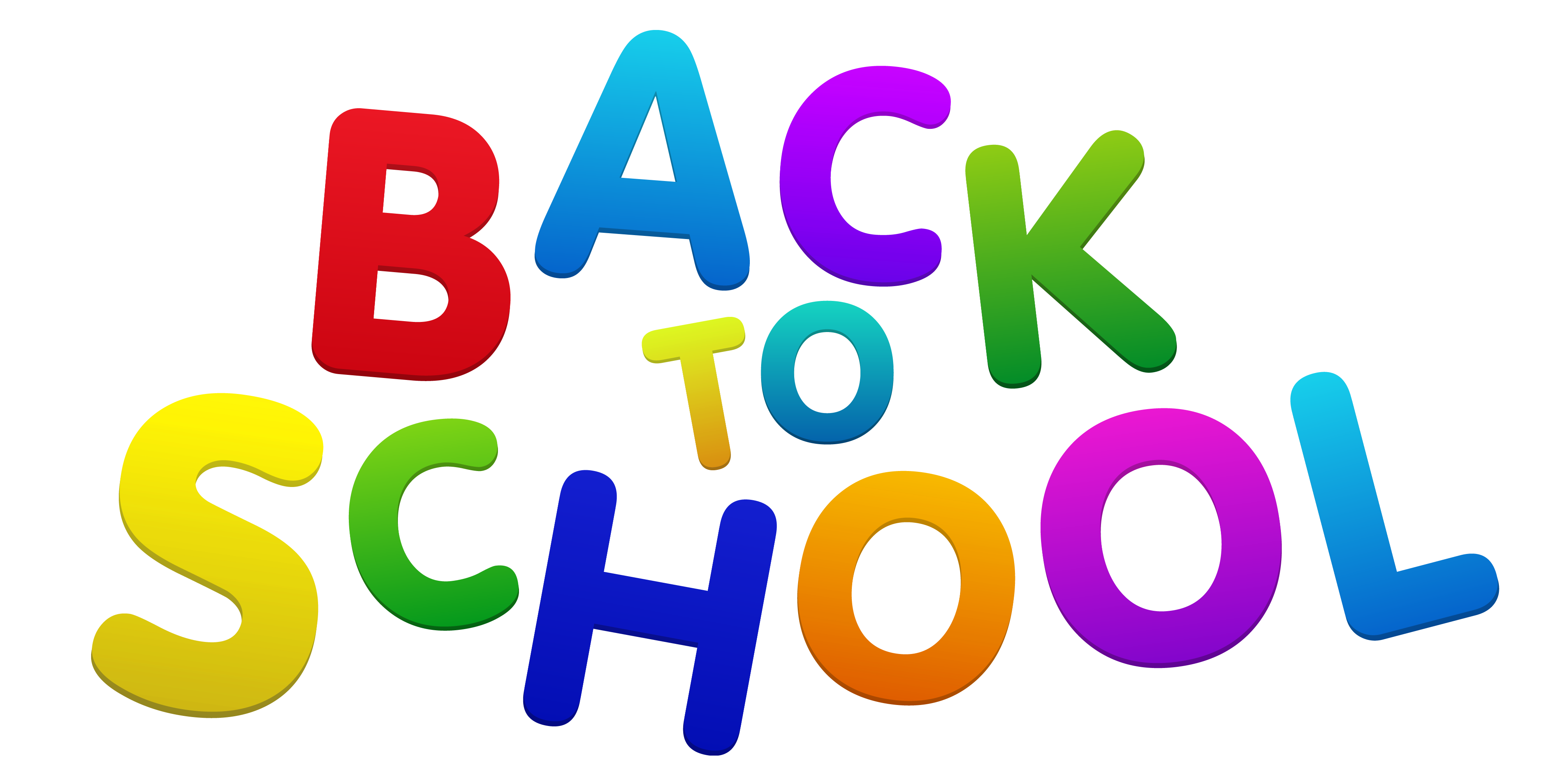 Back clipart transparent. To school colorful png