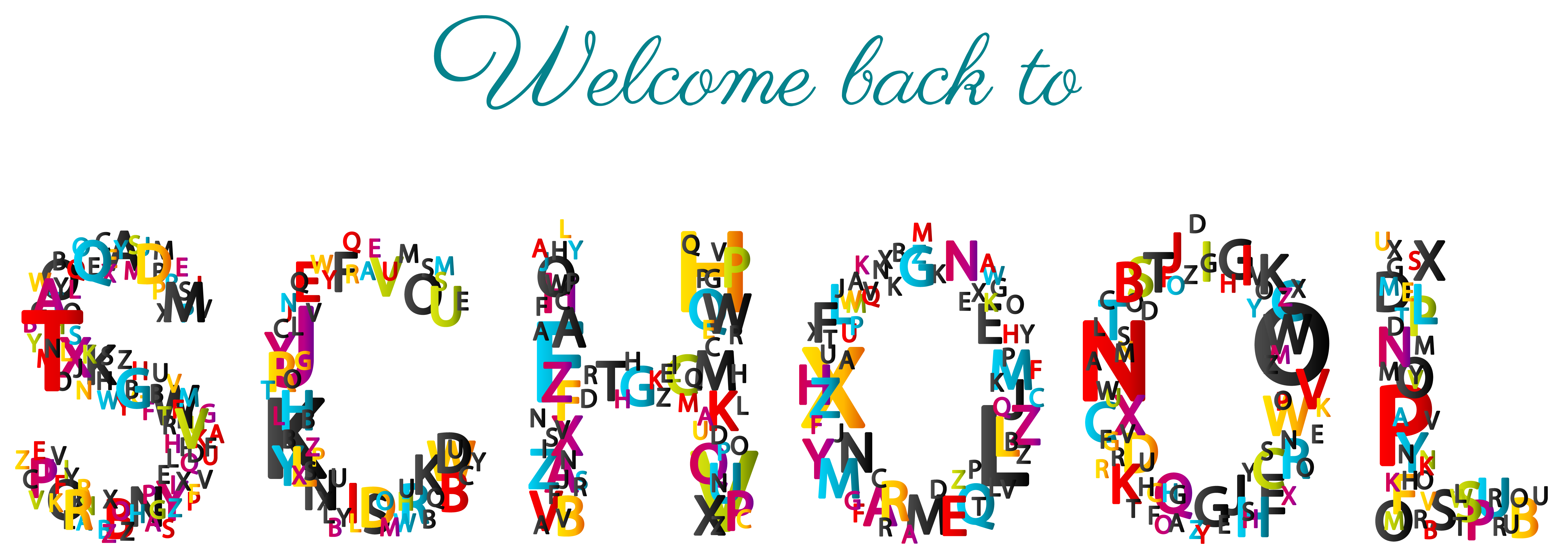 Back clipart transparent. Welcome to school png