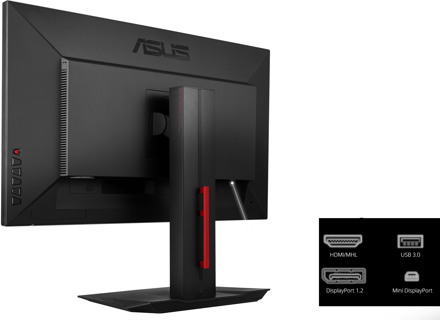 Back of computer monitor png. Mg q monitors asus