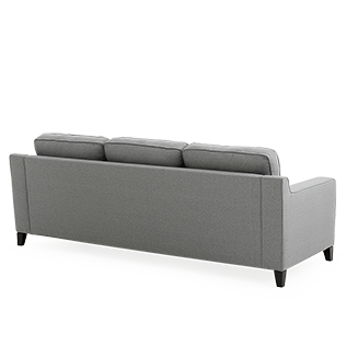 Back of couch png. Grey upholstered sofa brault