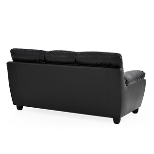 Back of couch png. Black sofa brault martineau