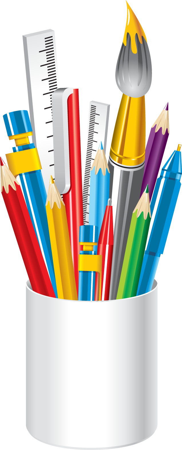 School clip stationary. Web design development pinterest