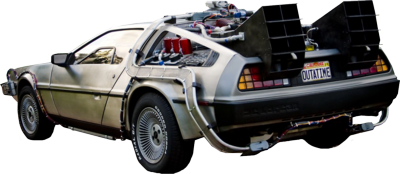 Back to the future .png. Car png image