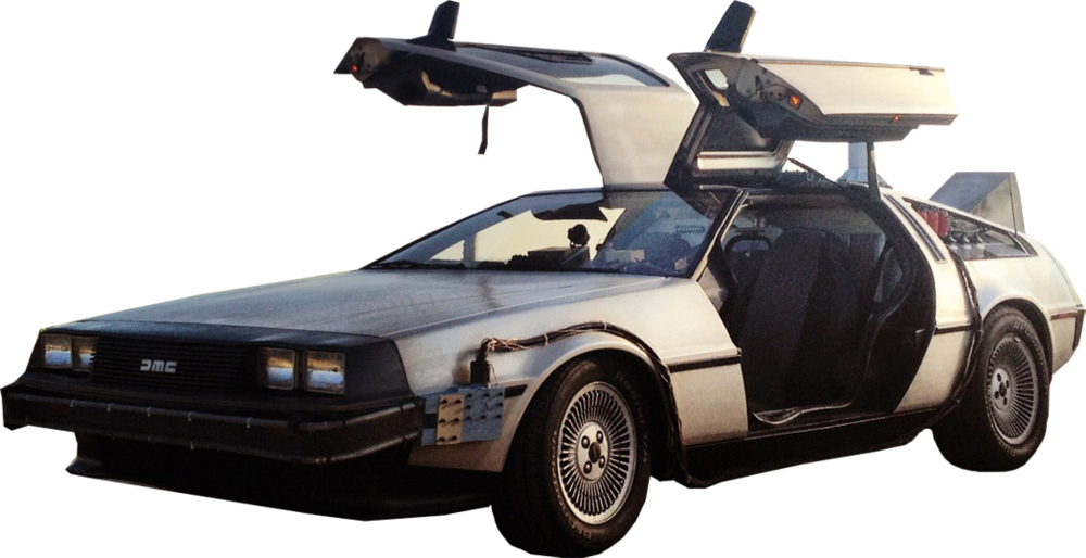 Back to the future car png. Psd official psds share