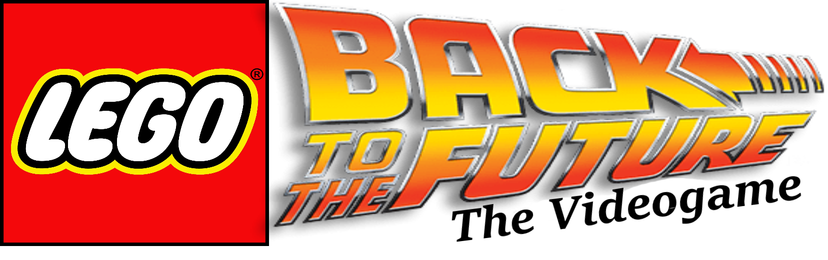 Back to the future logo png. Custom lego videogame brickipedia