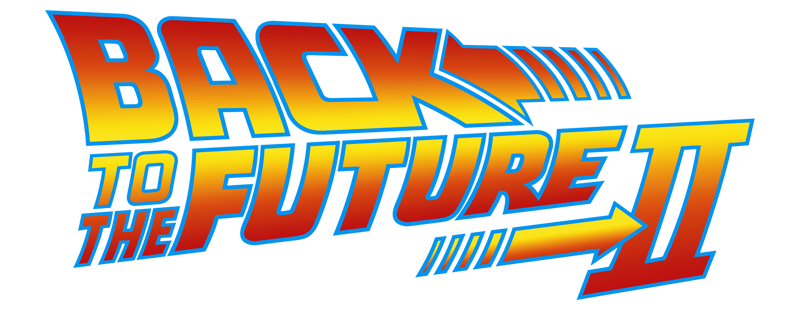 Back to the future logo png. Image part ii f