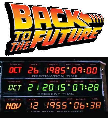 Back to the future part 2 logo png. New dimension october