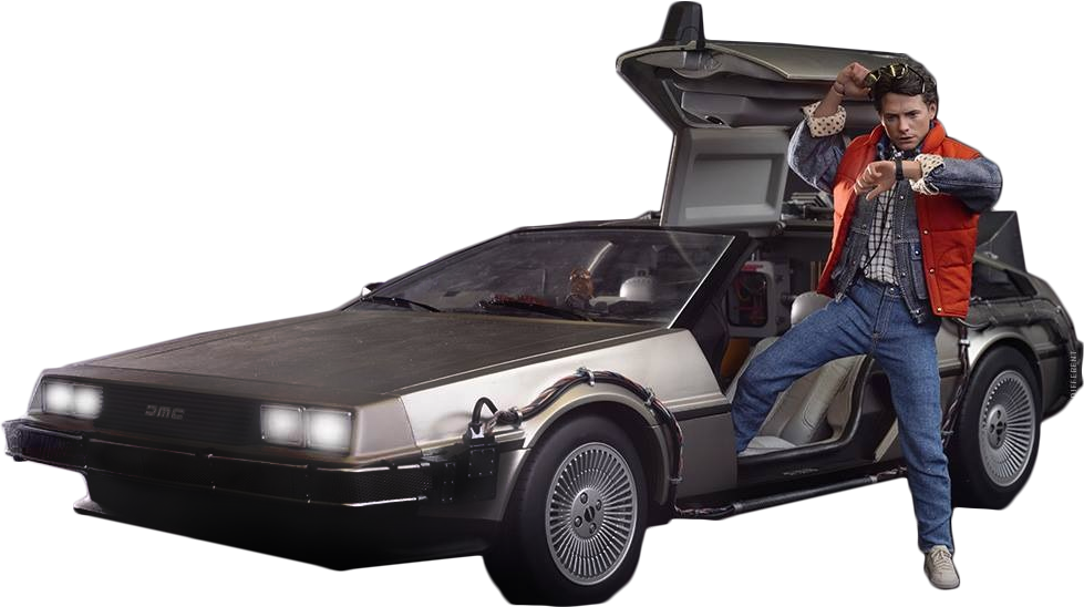 Back to the future .png. Png pic arts