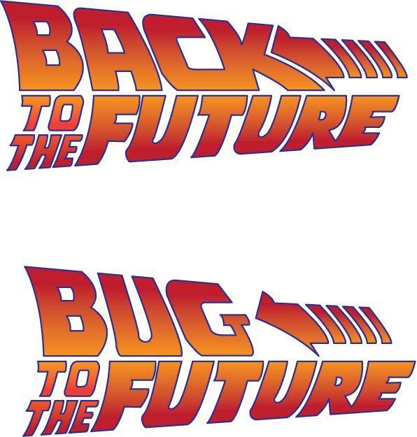 Back to the future title png. Logos digital webbing forums