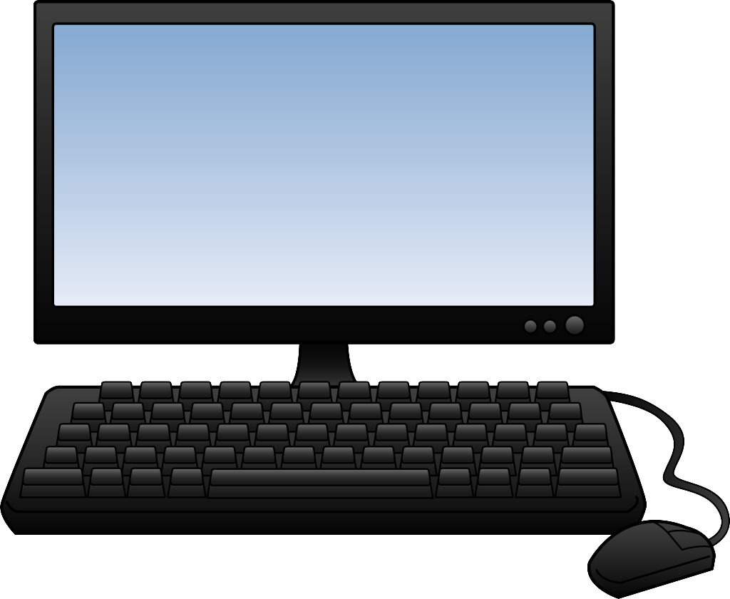 Computer clipart. Background free download clip