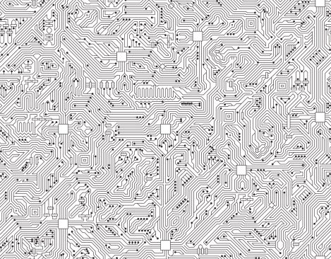 Background clipart computer. Circuit board seamless black