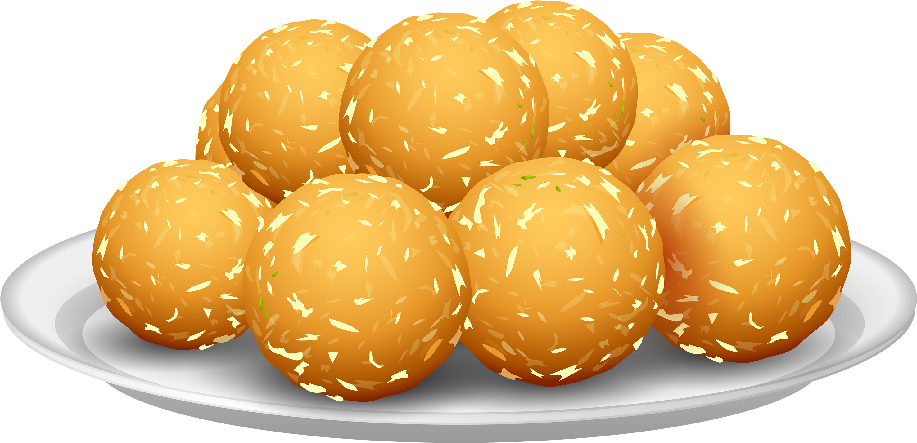 Background clipart food. Download potato croquettes png