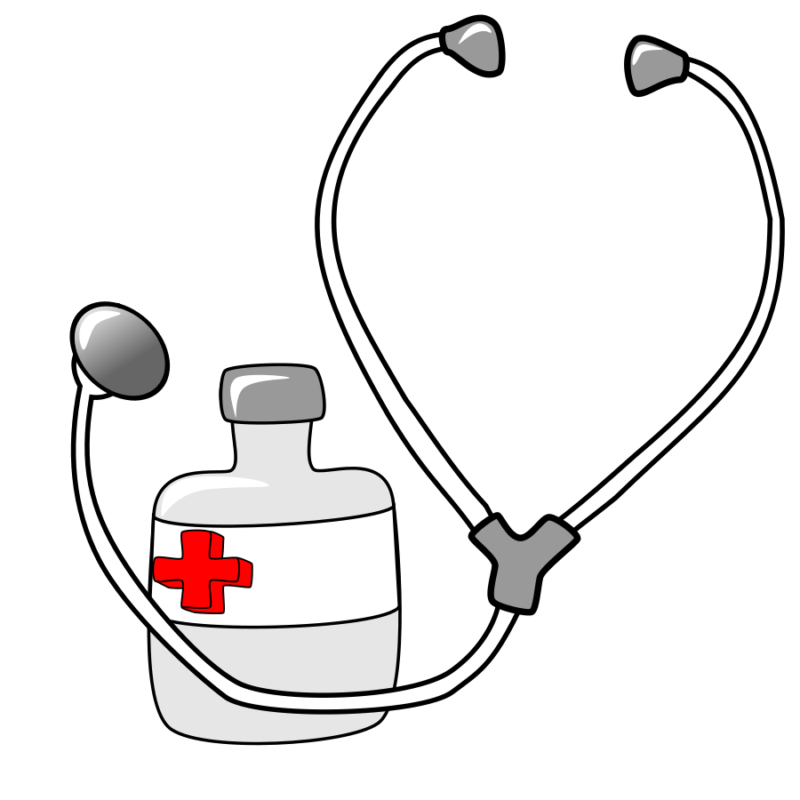 Background clipart medicine. Free black and white
