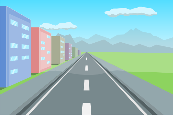 Background clipart road.