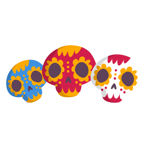Mexican vector png. Mexico skull icon transparent