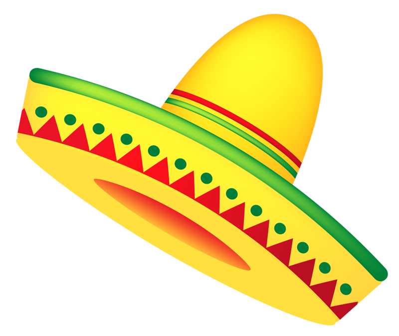 Background mexican png. Pinterest hat clip