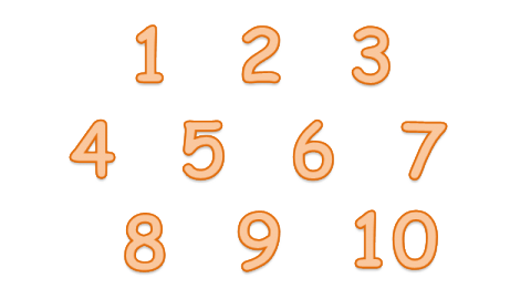 Background png images. To numbers transparent