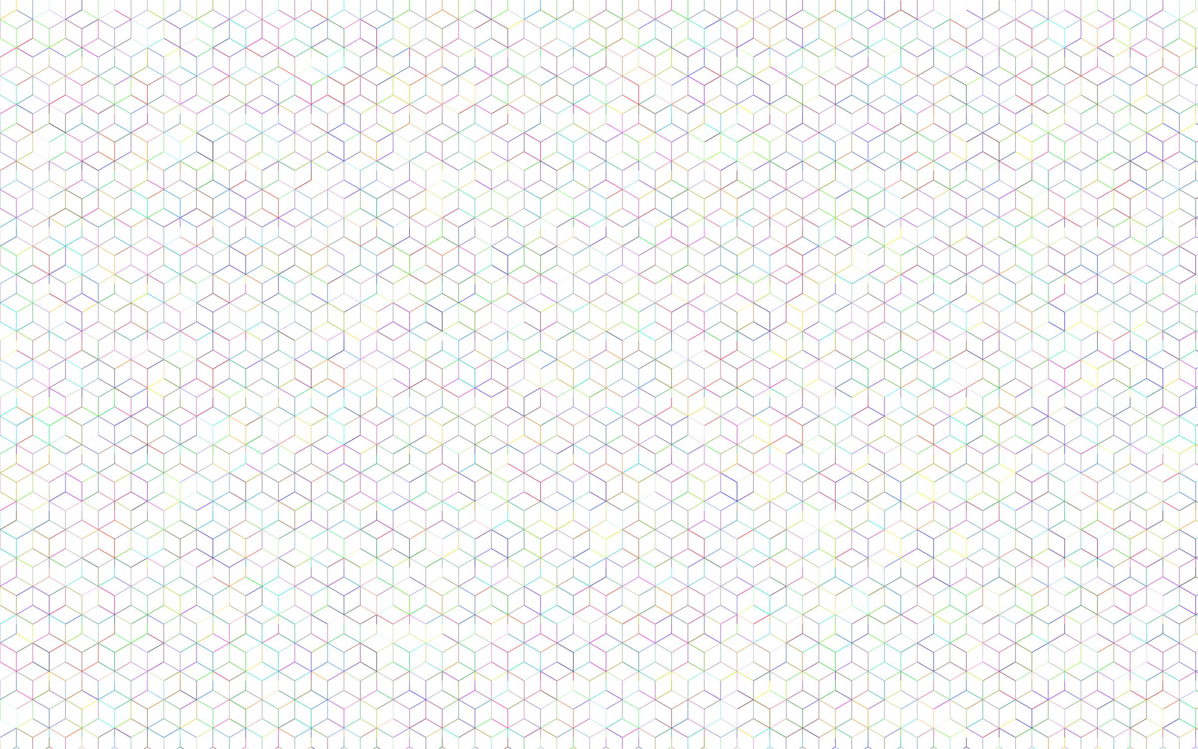 Background png patterns. Prismatic isometric cube wireframe