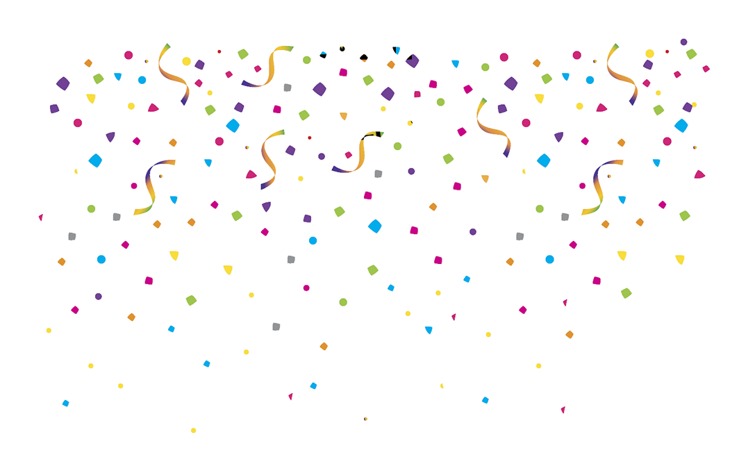 Birthday confetti png. Transparent images all image
