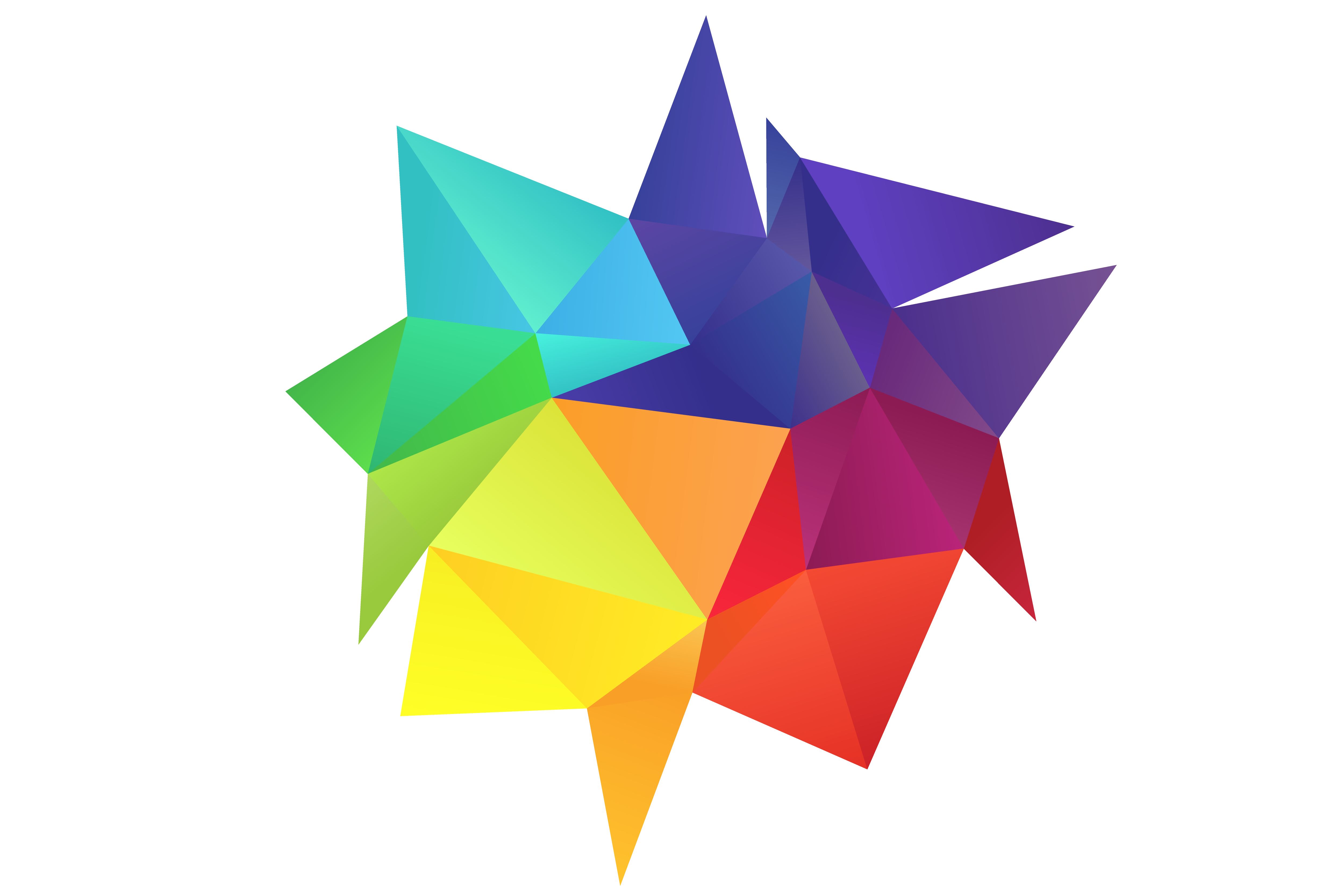 Rainbow colors design element. Colorful vector svg free library