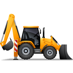 Free cliparts download clip. Backhoe clipart baby graphic royalty free stock