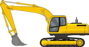 Backhoe Clipart And Illustrations