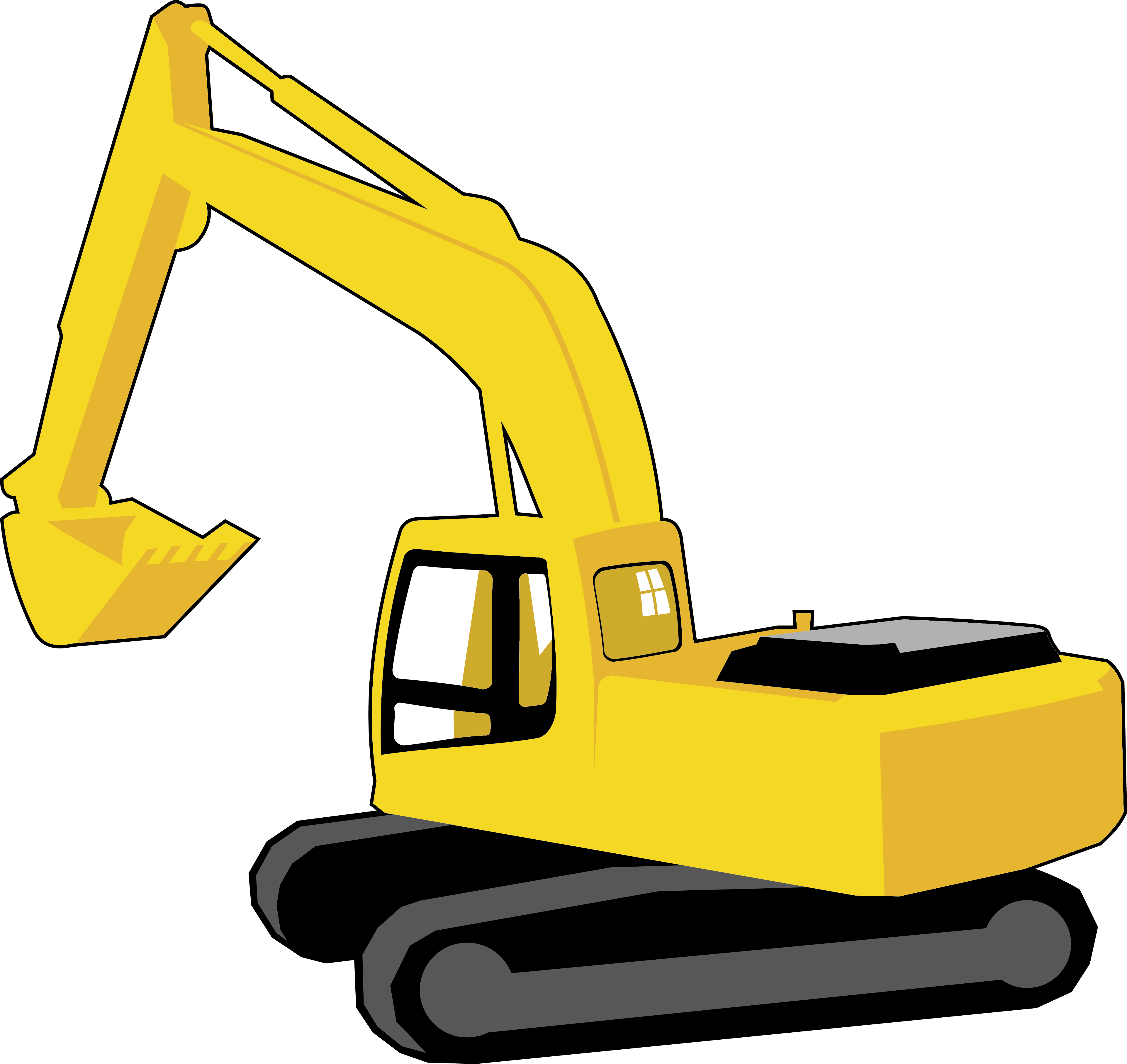 At getdrawings com free. Backhoe clipart bulldozer graphic royalty free