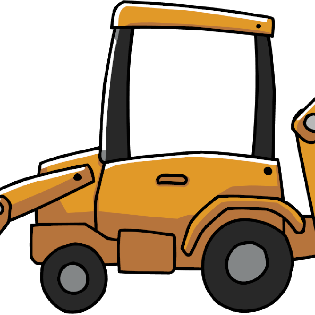 Backhoe clipart car. Free download jpg library