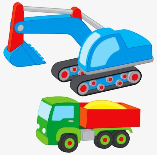 Backhoe clipart car. Backhoes transportation toy png transparent stock