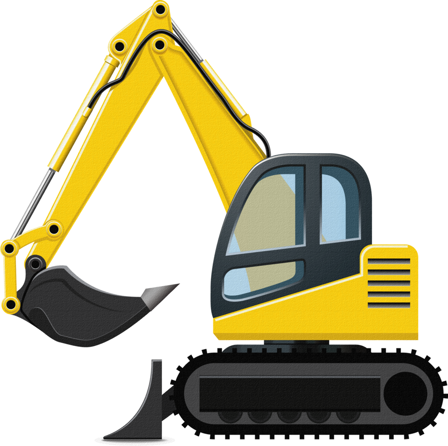 Toy clipart digger. Boys their toys design