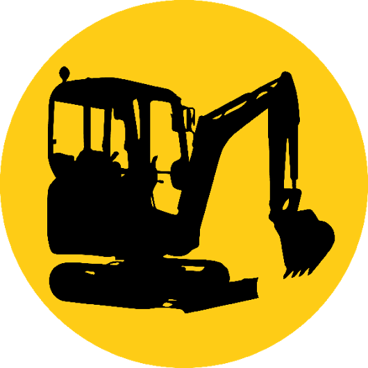excavator svg transparent. Backhoe clipart construction equipment jpg freeuse stock