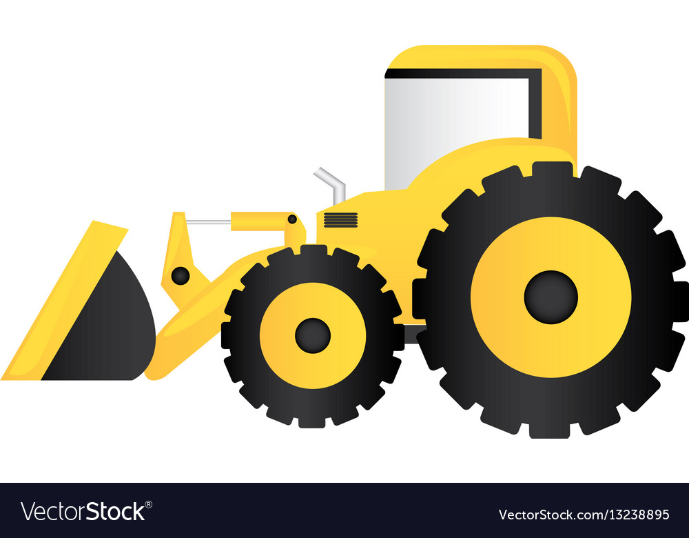 Color loader icon royalty. Backhoe clipart engineering equipment clip art royalty free stock