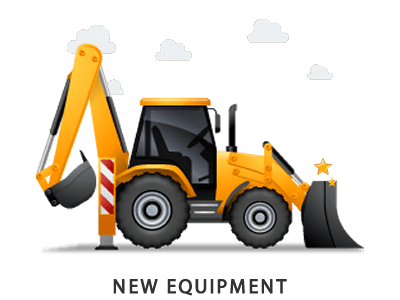 Earthmoving frames illustrations hd. Backhoe clipart engineering equipment svg stock