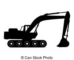 Stock photos and images. Backhoe clipart excavator arm banner royalty free download