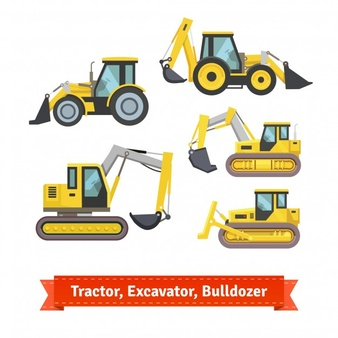 Vectors photos and psd. Backhoe clipart excavator arm clipart royalty free