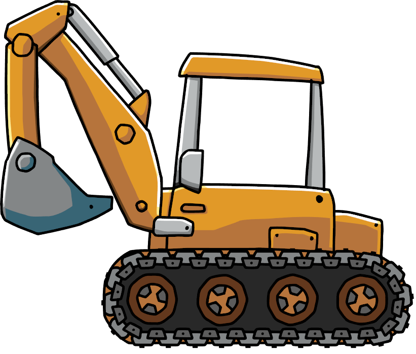 Free download clip art. Backhoe clipart engineering equipment png freeuse stock