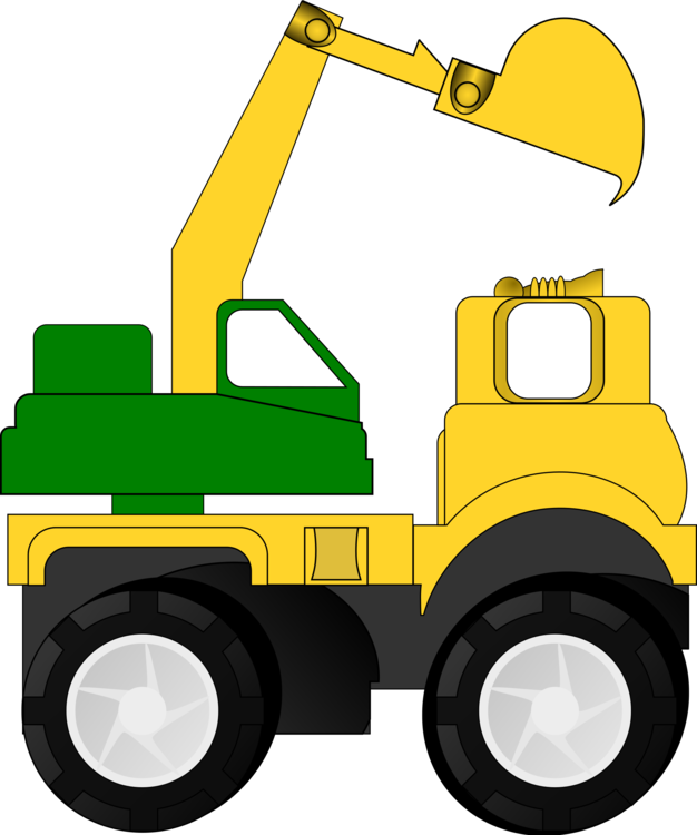backhoe vector excavator cat