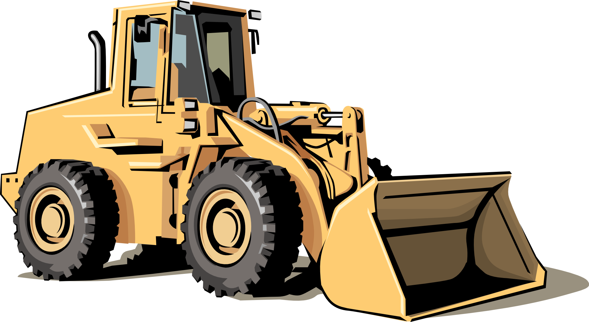 jpg library download. Backhoe clipart excavator arm clip art royalty free download